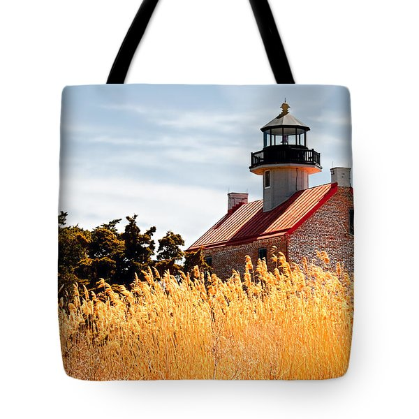 Wild Lighthouse Tote Bag