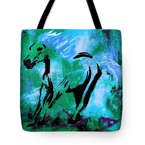 Wild Midnight Tote Bag
