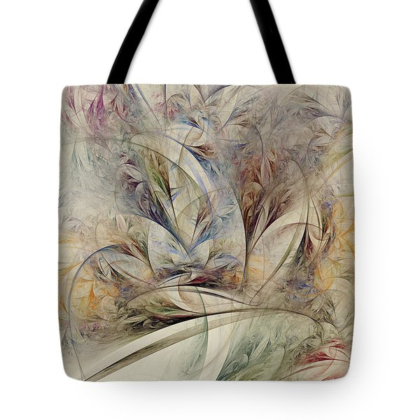 Tote Bag featuring the digital art Wild Orchid by Kim Redd