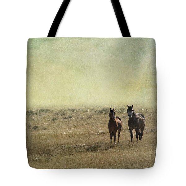 Wild Pair Tote Bag by Juli Scalzi
