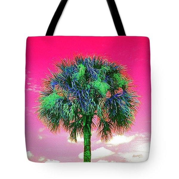 Wild Palm 2 Tote Bag
