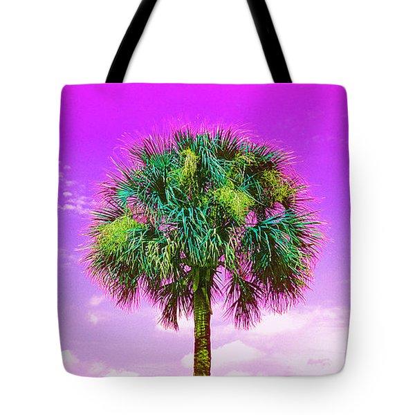Wild Palm 4 Tote Bag