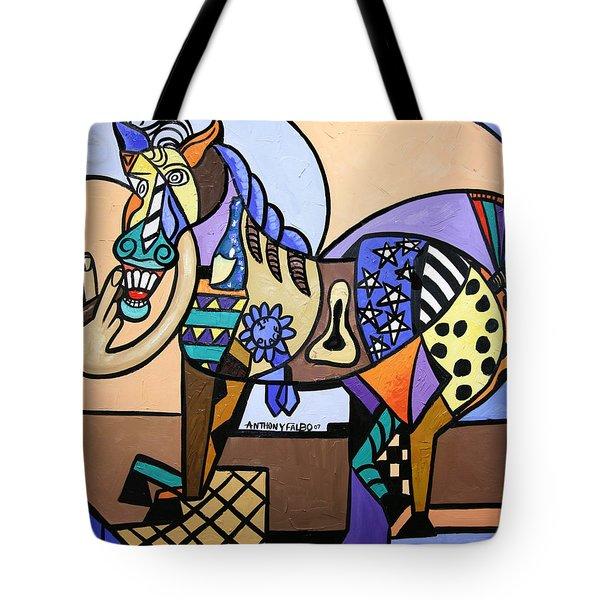 Wild Pony Tote Bag by Anthony Falbo