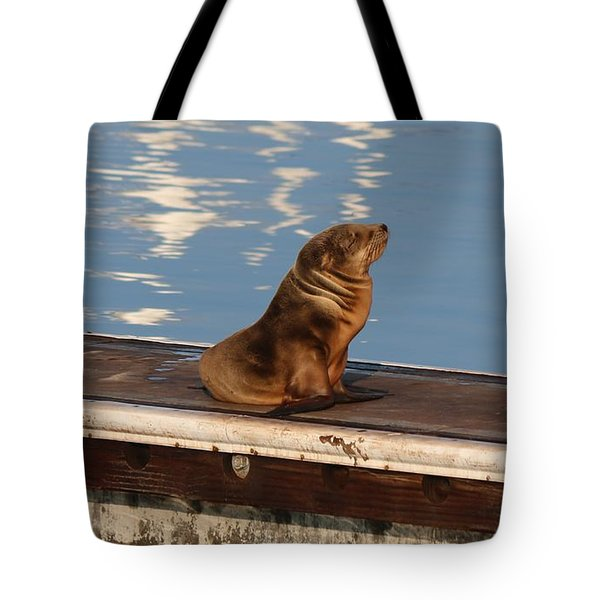Wild Pup Sun Bathing Tote Bag