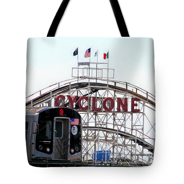 Tote Bag featuring the photograph Wild Rides by Ed Weidman