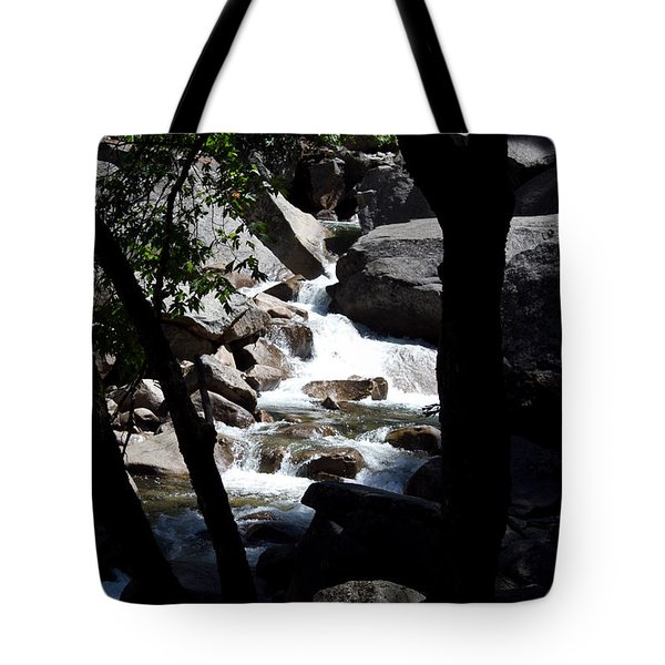 Tote Bag featuring the photograph Wild River by Brian Williamson