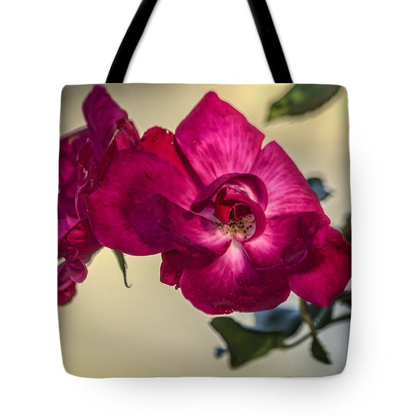 Wild Rose Tote Bag by Jane Luxton