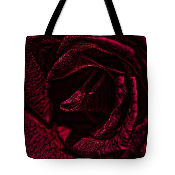 Wild Rose Tote Bag by Kathy Churchman