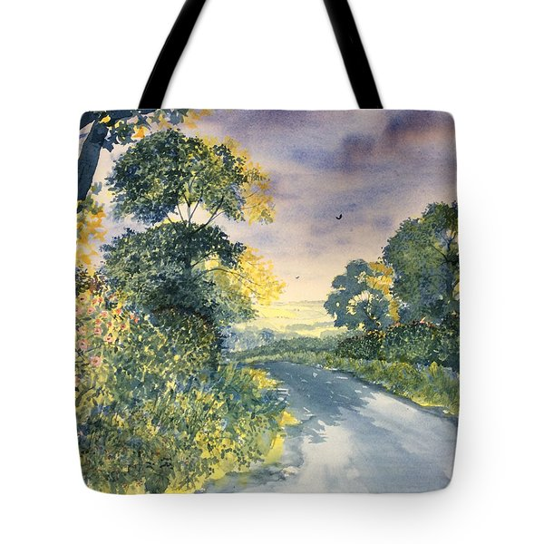 Wild Roses On The Wolds Tote Bag