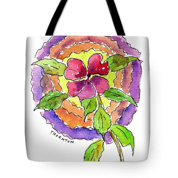Wild Wildflower Tote Bag