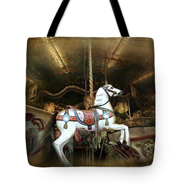 Wild Wooden Horse Tote Bag