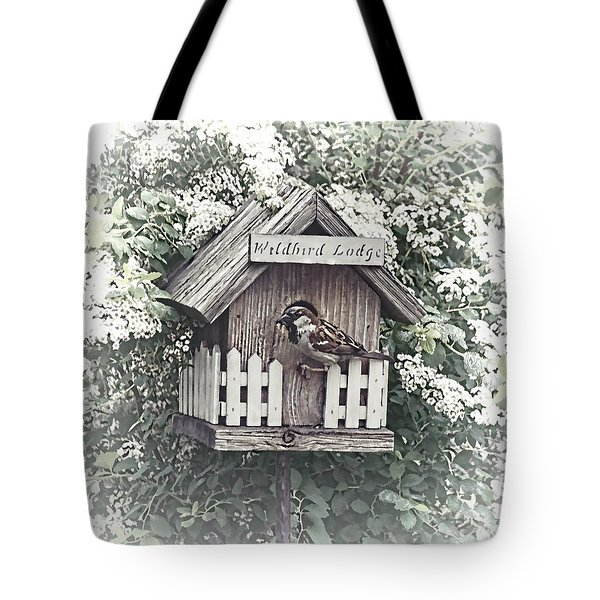 Wildbird Lodge Tote Bag