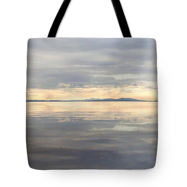 Tote Bag featuring the photograph Wildcat Cove Along Chuckanut Drive In Washington by JPLDesigns