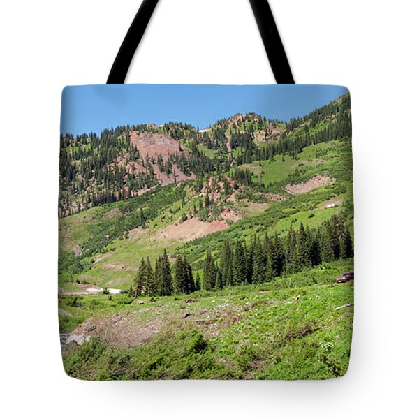 Wilderness Area And Snake River Tote Bag