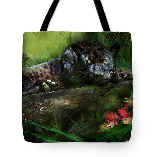 Wildeyes - Panther Tote Bag