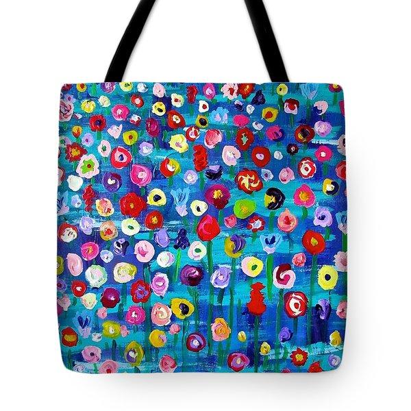 Wildflower Fiesta Tote Bag