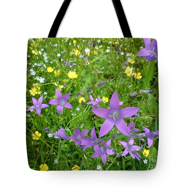 Tote Bag featuring the photograph Wildflower Garden by Martin Howard