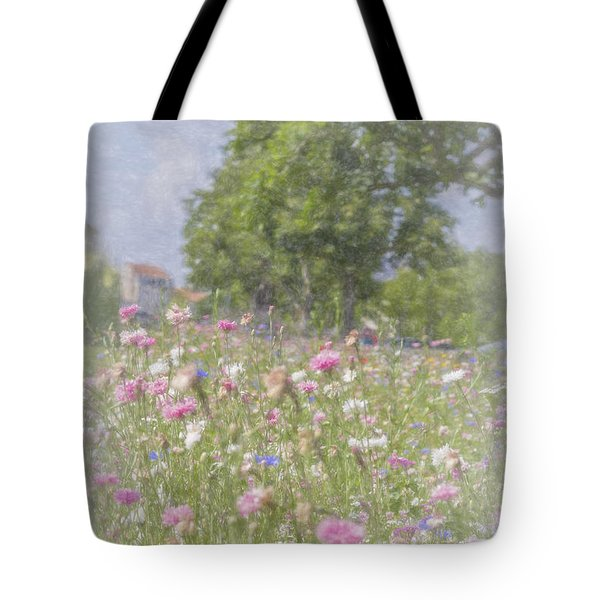 Wildflower Impressionism Tote Bag