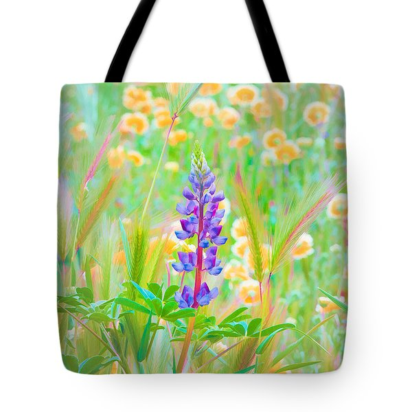 Wildflower Meadow - Spring In Central California Tote Bag