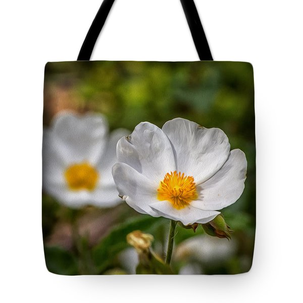 Wildflower Poppin Tote Bag