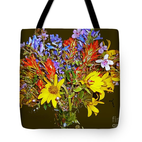 Wildflower Reminiscences Tote Bag