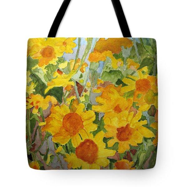Wildflower Volunteers Tote Bag
