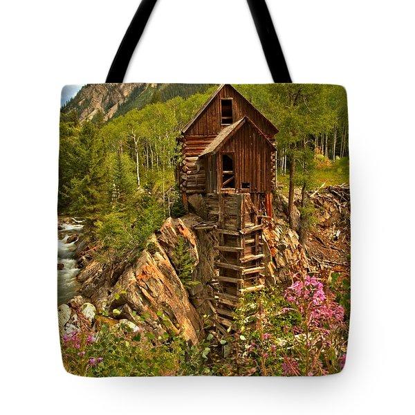Wildflower Wonderland Tote Bag by Adam Jewell