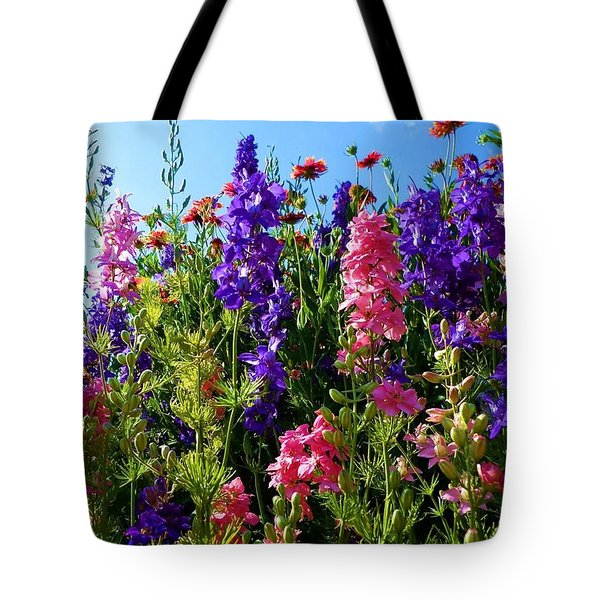 Wildflowers #14 Tote Bag