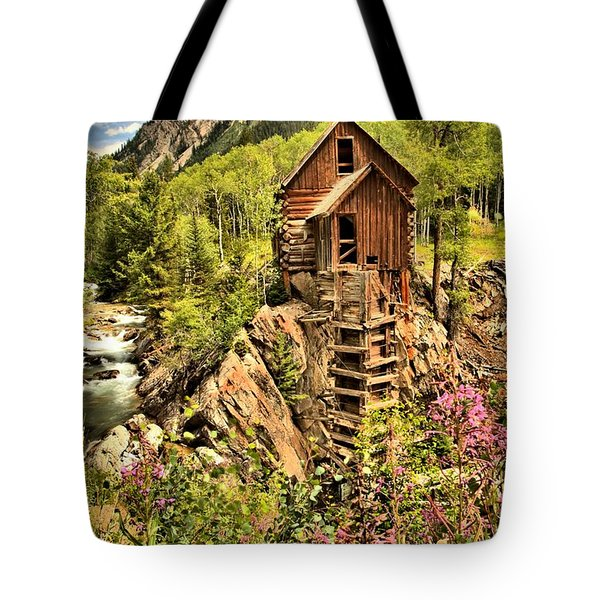 Wildflowers And History Tote Bag by Adam Jewell