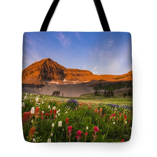 Wildflowers In Bloom Tote Bag