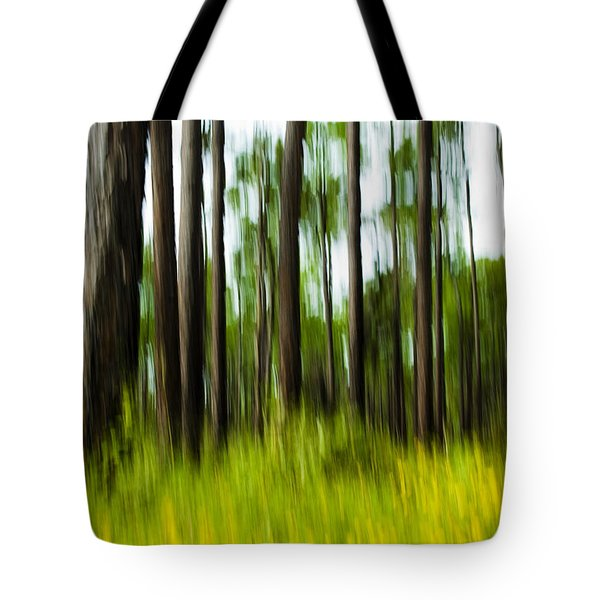 Wildflowers In The Forest Tote Bag
