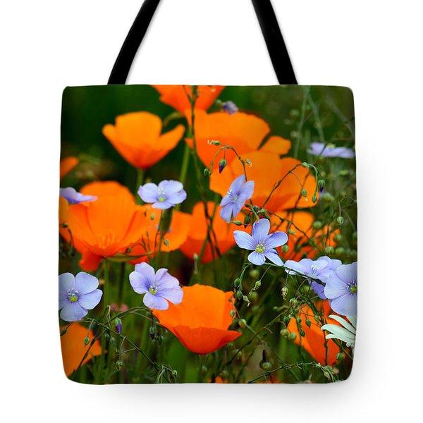 Gabriella's Flowers Tote Bag by Lisa L Silva