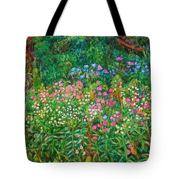 Wildflowers Near Fancy Gap Tote Bag by Kendall Kessler