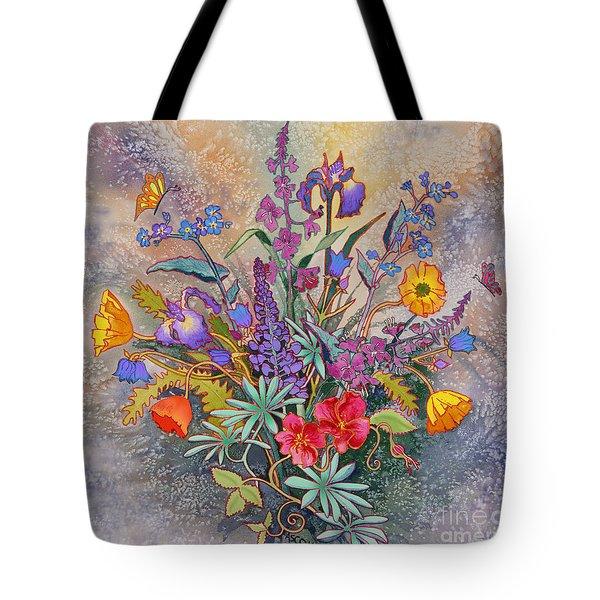 Wildflowers Of Alaska II Tote Bag