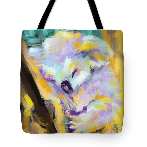 Wildlife Cuddle Koala Tote Bag
