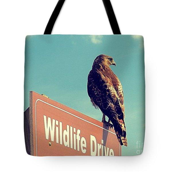 Wildlife Drive Greeter Tote Bag