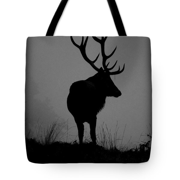 Wildlife Monarch Of The Park Tote Bag by Linsey Williams