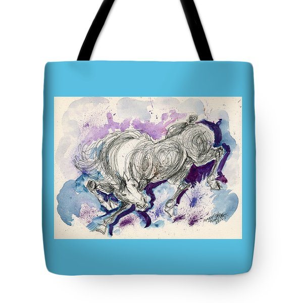 Wildline  Tote Bag by Mary Armstrong