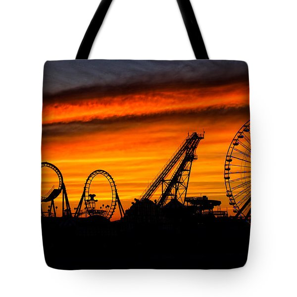 Wildwood At Dawn Tote Bag