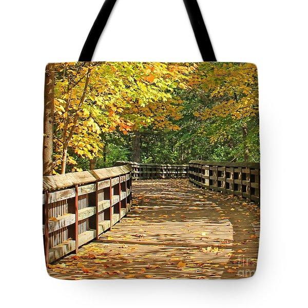 Wildwood Boardwalk Corrected Tote Bag