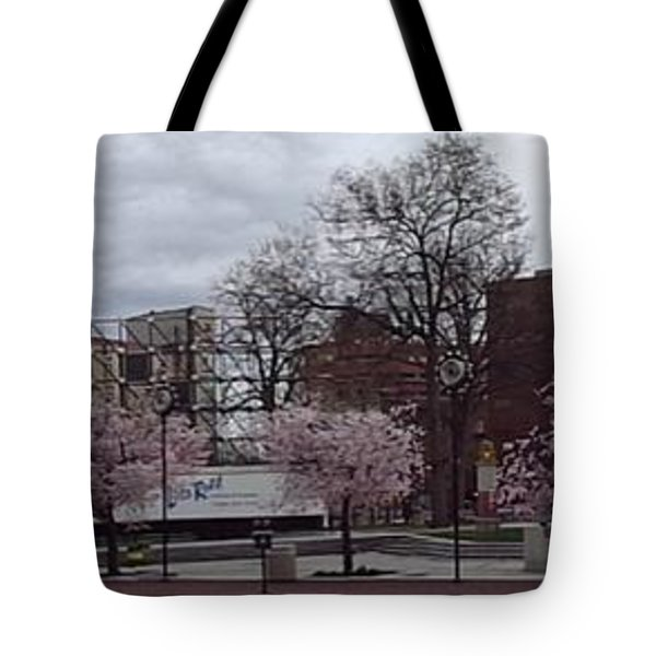 Wilkes-barre In Bloom Tote Bag