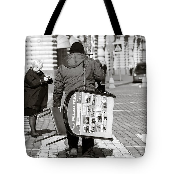 Will Cell Phones Cameras Hurt Photography? - Featured 3 Tote Bag by Alexander Senin