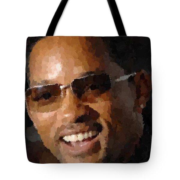 Will Smith Portrait Tote Bag