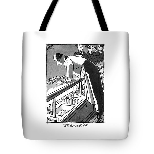 Will That Be All Tote Bag