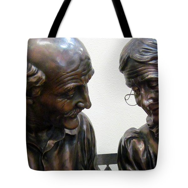 Will You Still Need Me Will You Still Love  Me When I'm Sixty Four Tote Bag by Tina M Wenger