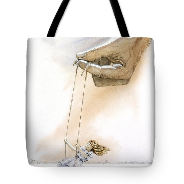 Will You Trust Me Blonde Tote Bag