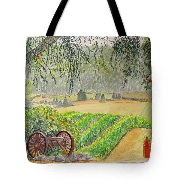 Willamette Valley Winery Tote Bag