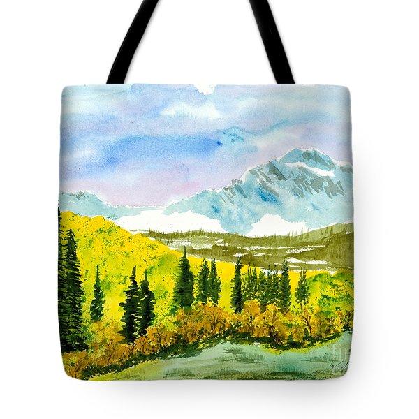 Willard Peak Tote Bag