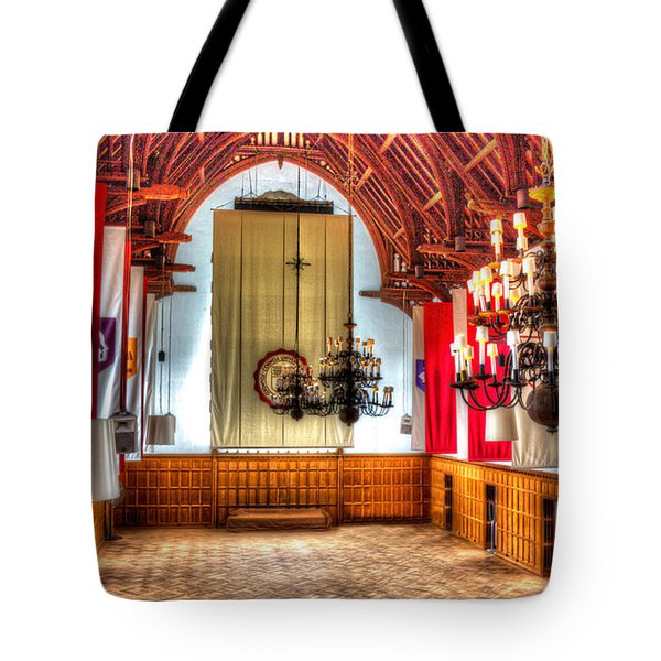 Willard Straight Hall Cornell University Tote Bag