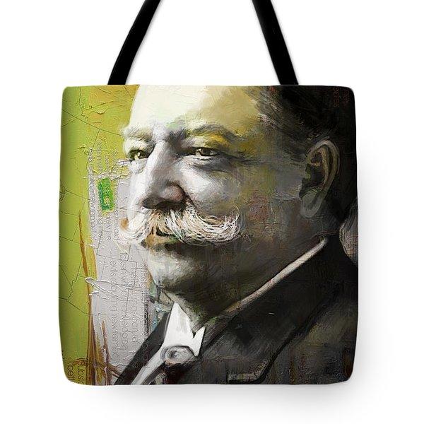 William Howard Taft Tote Bag by Corporate Art Task Force